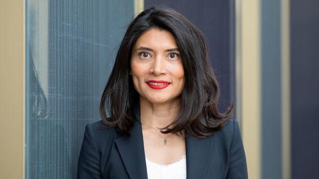 Aileen Zumstein, Unternehmerin, Verwaltungsrätin und Präsidentin der Stiftung Kinderbetreuung.