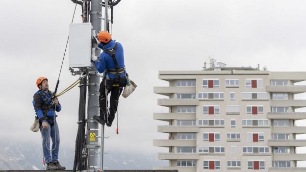 Nichts geht mehr: Wartungsarbeiten der Swisscom führten in der Nacht auf Mittwoch zu einer Panne.
