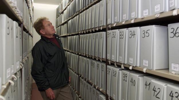 Das Bild zeigt das Bundesarchiv in Bern.