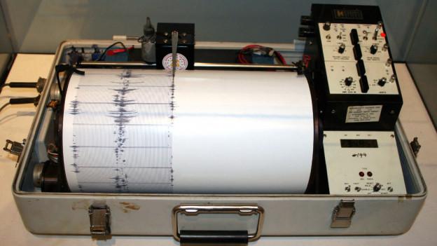 Seismografen haben in der Schweiz vergangenes Jahr doppelt so viele Erdbeben registriert wie im Durchschnitt.