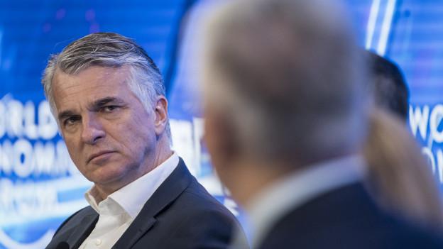 Noch UBS-Chef Sergio Ermotti