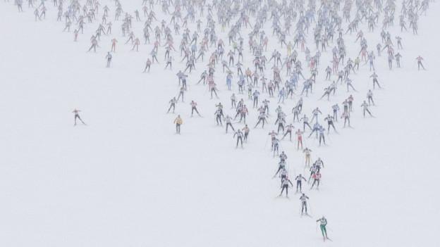 Der Engadin Skimarathon im Engadin findet dieses Jahr wegen des Corona-Virus nicht statt.