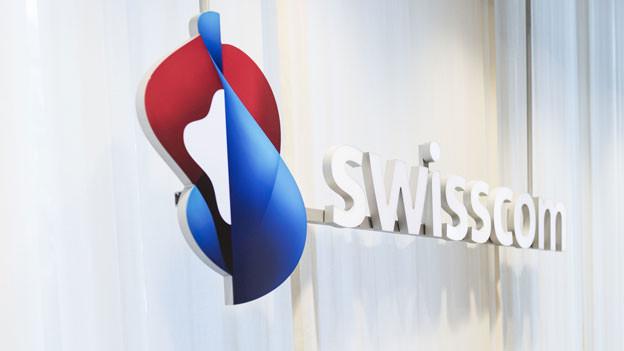 Das Logo der Swisscom.