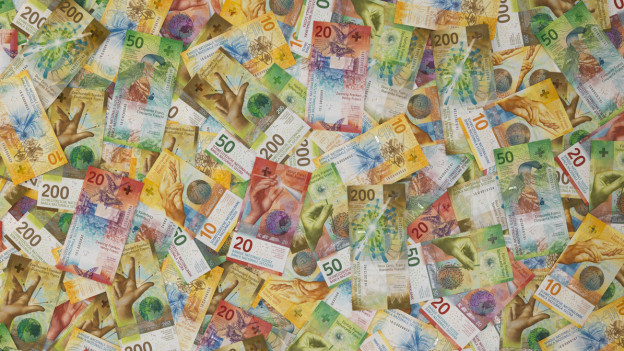 Schweizer Geldscheine