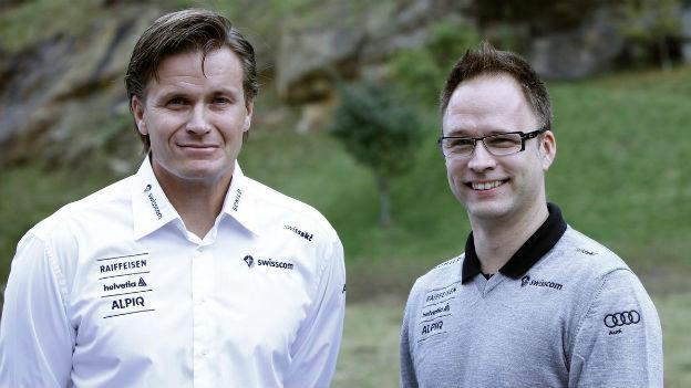 Swiss-Ski Präsident Lehmann (links) verliert Direktor Andreas Wenger