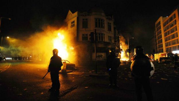 Londoner Unruhen aus dem Jahr 2011.