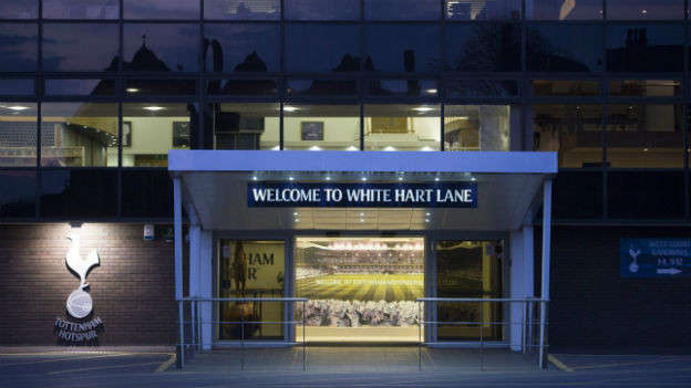 Das Stadion der Hotspurs im Londoner Stadtteil Tottenham