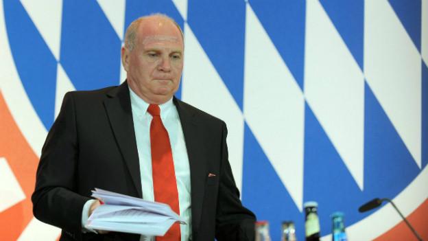 Der Vereinspräsident des FC Bayern-München polarisiert: Uli Hoeness