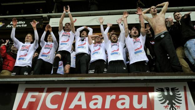 Wieder in der höchsten Liga: Der FC Aarau.
