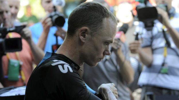 Christopher Froomes überlegener Sieg am Mont Ventoux löste Doping-Spekulationen aus.
