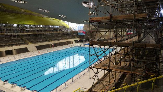 Das Olympiabecken wird der Londoner Bevölkerung als Schwimmbad zur Verfügung stehen.