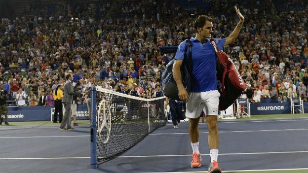Roger Federer: Unerwartet frühes Out am US-Open.