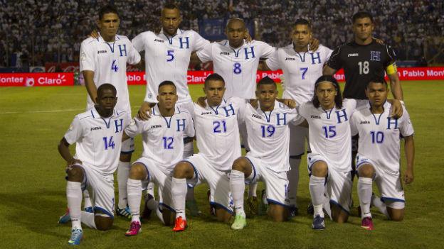 Honduranische Fussballnationalmannschaft