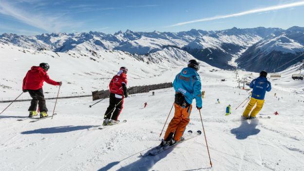 Die Wintersportsaison ist bereits in vollem Gange
