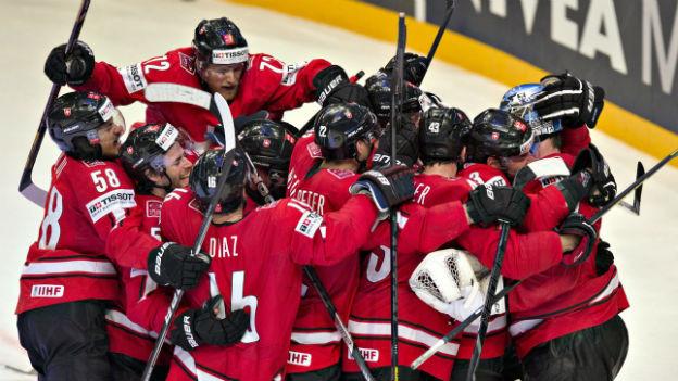 Ein sportliches Highlight: die Schweiz wird Vize-Eishockey-Weltmeister