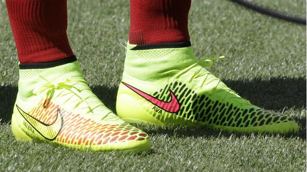 An der WM im Dauereinsatz: Fussballschuhe von Nike.