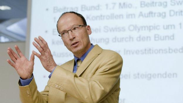 Matthias Kamber Direktor der Stiftung Antidoping Schweiz.