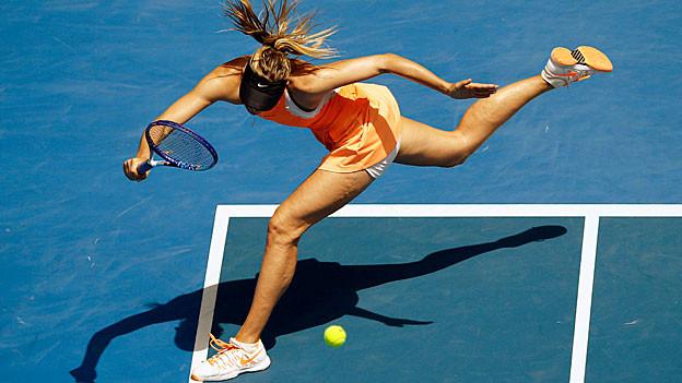 Maria Scharapowa am Australian Open.