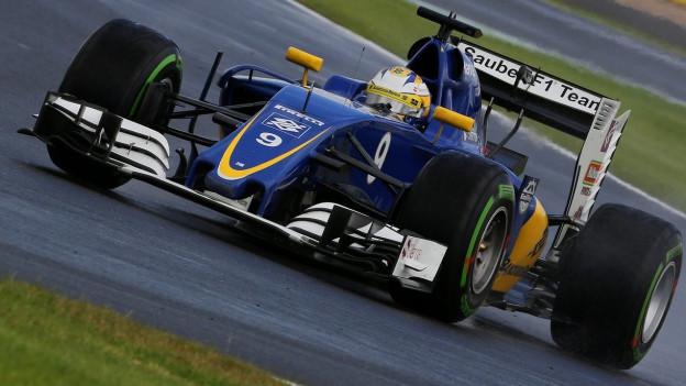 Der schwedische Sauber-Pilot Marcus Ericsson beim Grand Prix in Silverstone vor 10 Tagen.