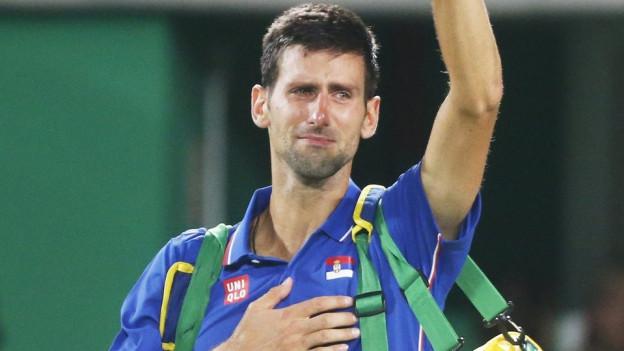 Djokovic weint nach dem Olympia-Out