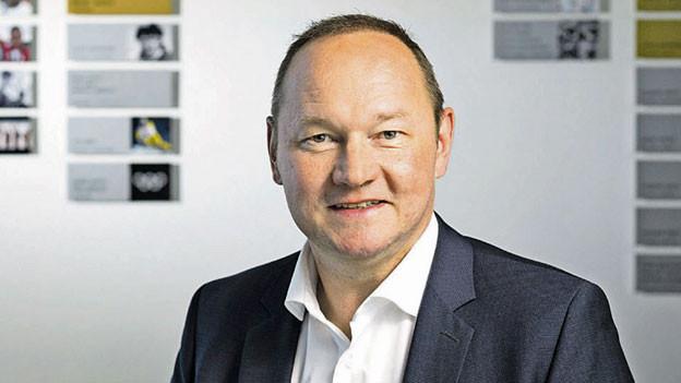 Jürg Stahl, Präsident von Swiss Olympic.
