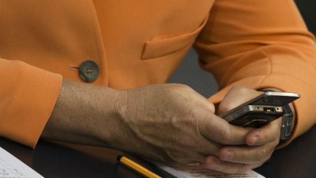 Auch das Handy von Angela Merkel wurde abgehört