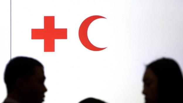 Logo Rotes Kreuz und Roter Halbmond.