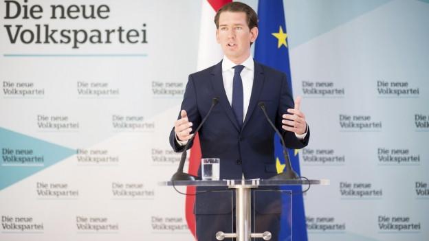 Die Österreichische Regierung um Kanzler Kurz ist am Montag zerbrochen.