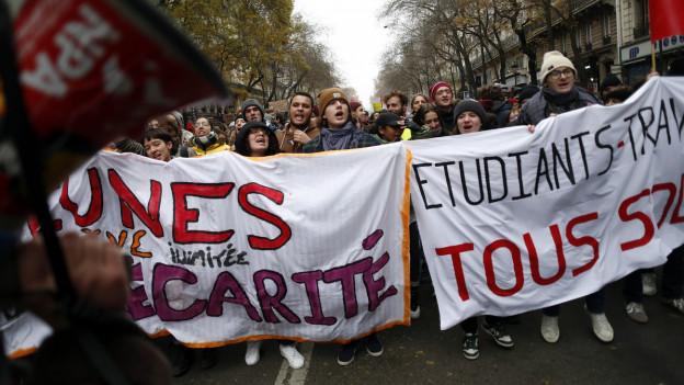 Französische Streikkultur