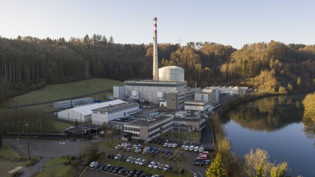 Das erste Kernkraftwerk Mühleberg nahe Bern wird heute abgeschaltet