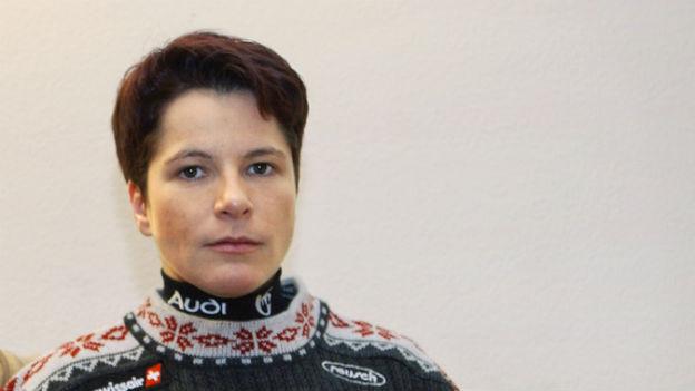 Skirenfahrerin Corinne Rey-Bellet.