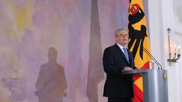 Bundespräsident Joachim Gauck bei einer Rede in Berlin im Februar 2013.