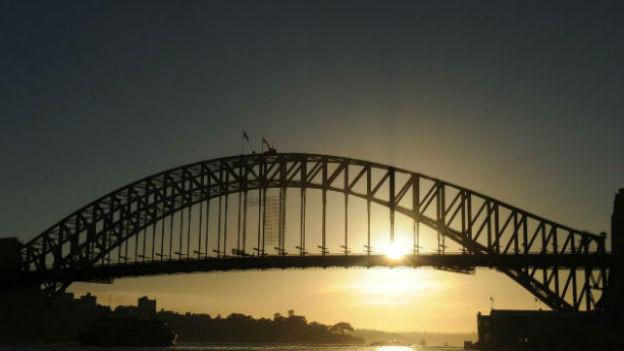 Harbour Bridge: Nach langem hin und her endlich gebaut.