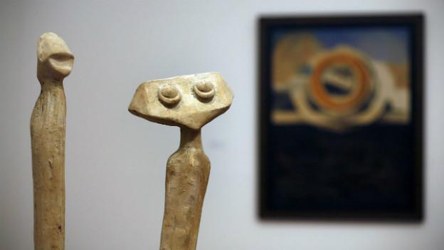 Max Ernst: les aperges de la lune (1935).
