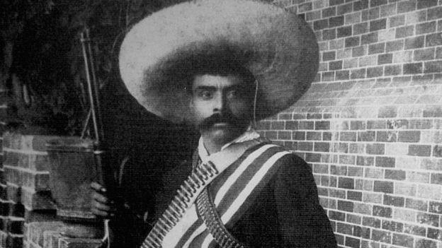 Emiliano Zapata: In Mexiko noch heute ein Held.