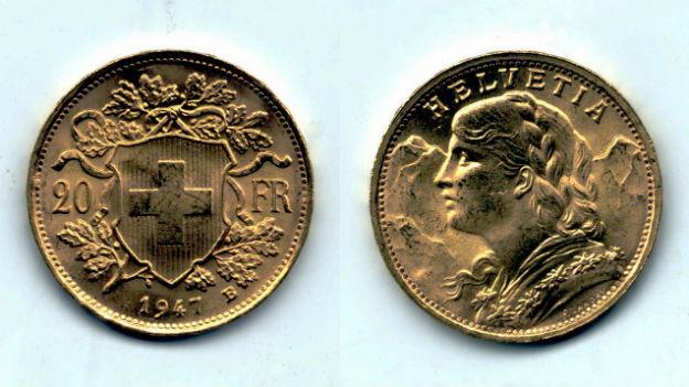 Das populärste Goldstück der Schweiz.