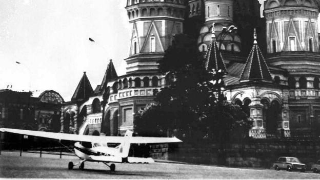 Cessna von Mathias Rust in Moskau