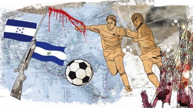 Fussballkrieg Südamerika