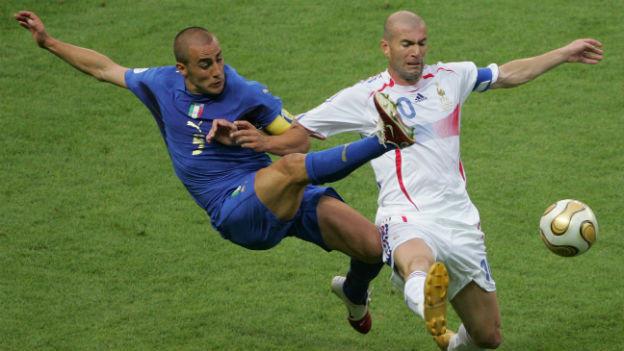 Zidane kämpft in seinem Abschiedsspiel