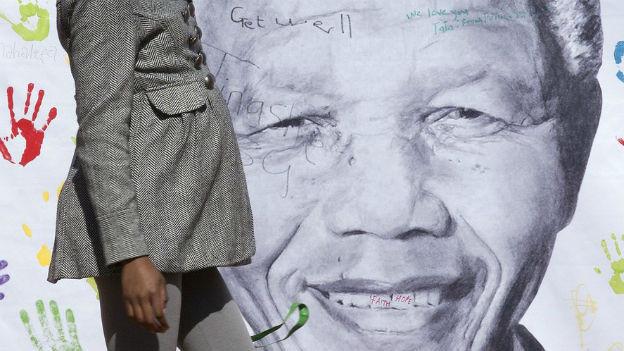 Nelson Mandela feiert am 18. Juli Geburtstag