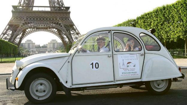Der 2CV ist immer noch beliebt - nicht nur in Frankreich
