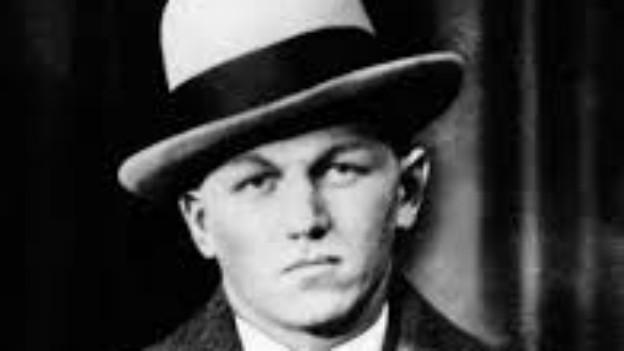 Porträt des Gangsters «Babyface Nelson»