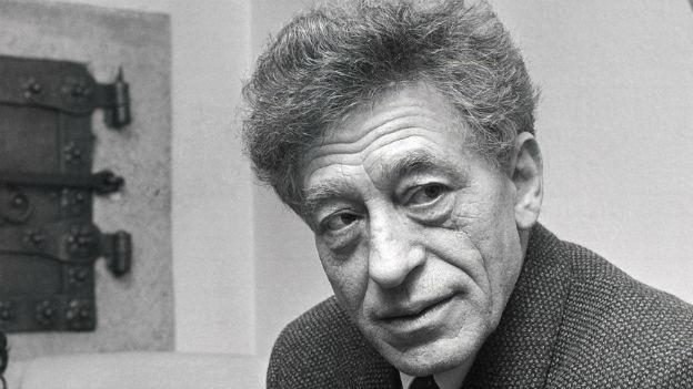 Portrait von Alberto Giacometti