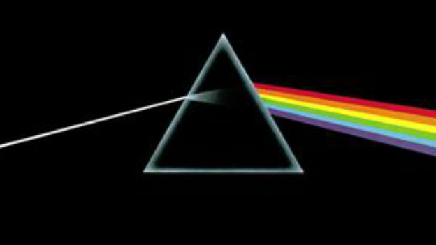 """Cover der LP """"The dark side of the Moon"""""""