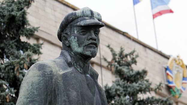 Statue von Wladimir Iljitsch Lenin