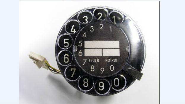 Telefon-Wählscheibe: Vor 101 Jahren patentiert.