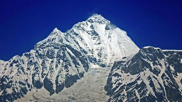 8167 Meter über Meer: Dhaulagiri in Nepal.
