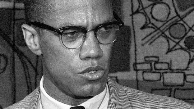 Der US-amerikanische Bürgerrechtler Malcolm X.