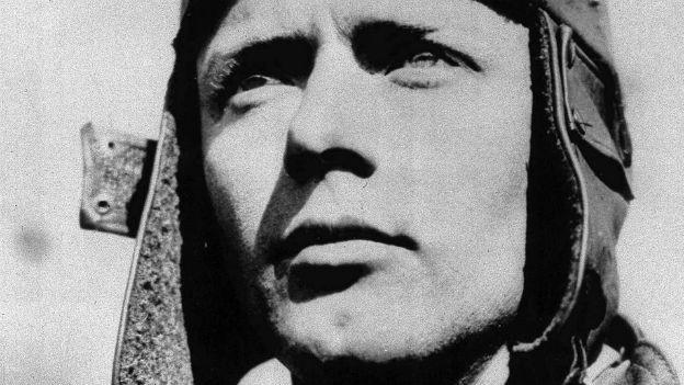 Charles Lindbergh, der erster Überflieger des Atlantiks.