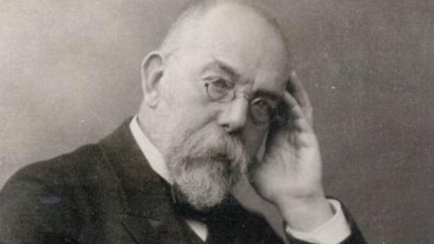 Robert Koch, Begründer der Bakteriologie.